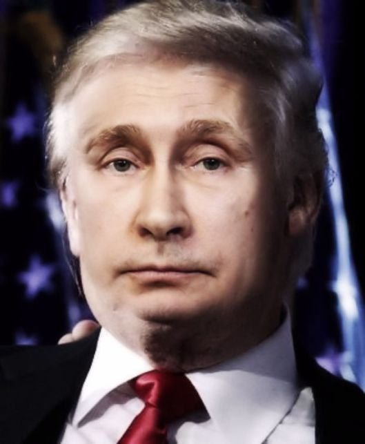 Vladimir-the-Donald-Trump-45th-President
